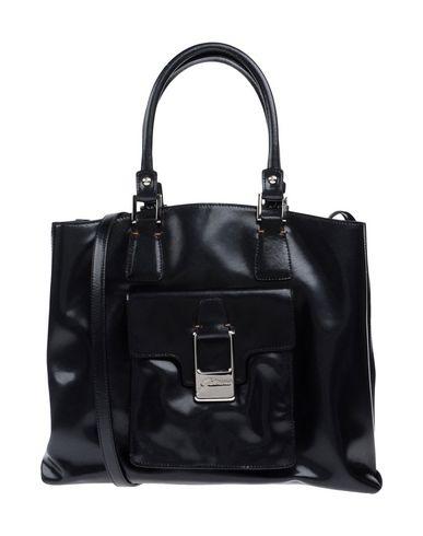 GATTINONI レディース ハンドバッグ ブラック 紡績繊維