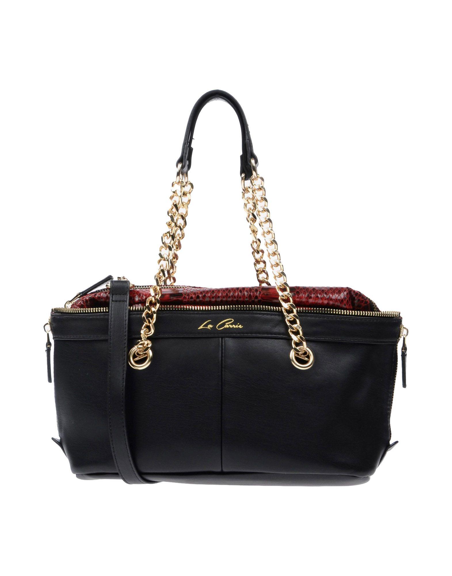 LA CARRIE BAG Damen Handtaschen Farbe Schwarz Größe 1