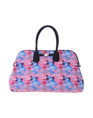 SAVE MY BAG レディース ハンドバッグ フューシャ ポリエステル 50% / ナイロン 40% / ポリウレタン 10%