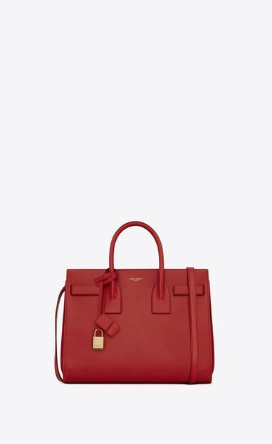 SAINT LAURENT Sac De Jour Small D classic small sac de jour bag in lipstick red leather v4