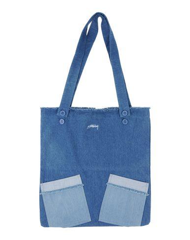 STUSSY レディース 肩掛けバッグ ブルー 紡績繊維
