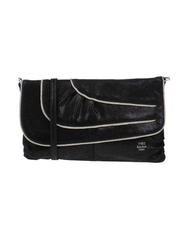 MILA LOUISE レディース ハンドバッグ ブラック 柔らかめの牛革 100%