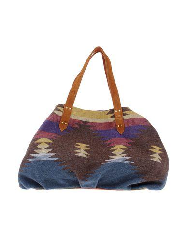 MILA LOUISE レディース ハンドバッグ ダークブラウン 紡績繊維 / 革