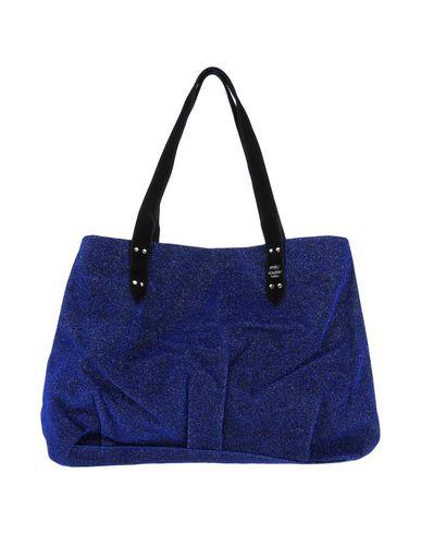 MILA LOUISE レディース ハンドバッグ ブルー 紡績繊維 / 革