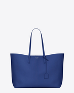 SAINT LAURENT Shopping Saint Laurent E/W D SHOPPING saint laurent bag in royal blue leather f