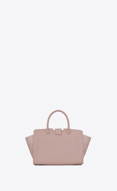 SAINT LAURENT MONOGRAMME TOTE Woman Baby DOWNTOWN leather and suede cabas bag in powder pink b_V4
