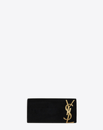 SAINT LAURENT Clutches D SMOKING clutch in black velvet f