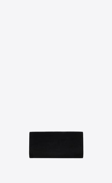 SAINT LAURENT Clutches D SMOKING clutch in black velvet b_V4