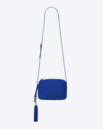 SAINT LAURENT Camera bag D LOU camera bag in royal blue leather f