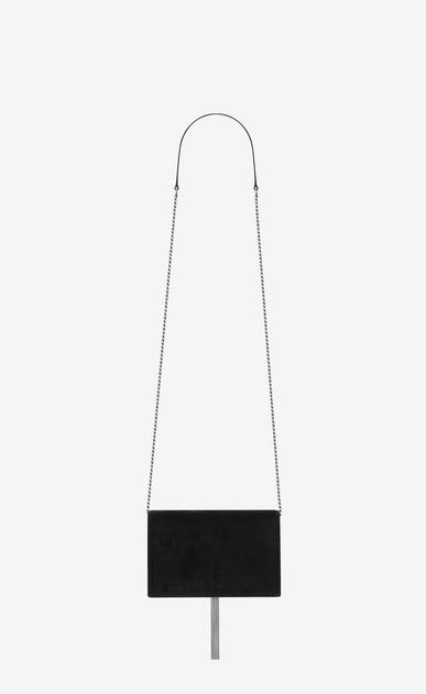 SAINT LAURENT MONOGRAM KATE WITH TASSEL D KATE chain and tassel wallet in black velvet and crystals b_V4