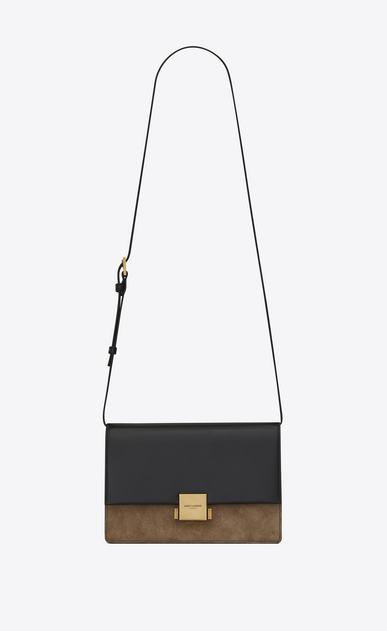 SAINT LAURENT Bellechasse D Medium BELLECHASSE SAINT LAURENT bag in black leather and taupe suede v4
