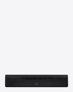 SAINT LAURENT Clutches D FETICHE long clutch in black moroder leather f