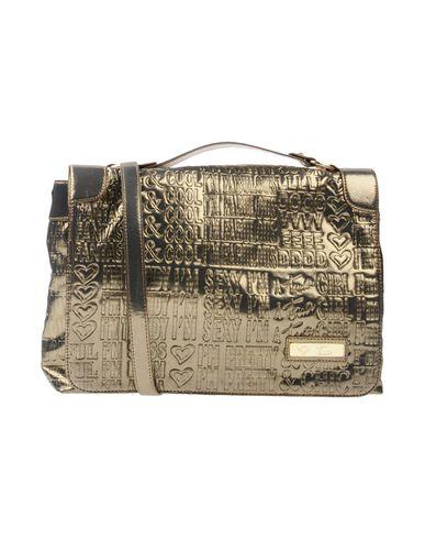 TUA BY BRACCIALINI レディース ハンドバッグ ブロンズ 紡績繊維