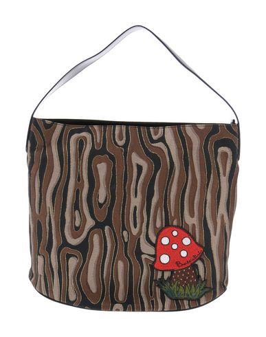 BRACCIALINI レディース ハンドバッグ ライトブラウン 紡績繊維