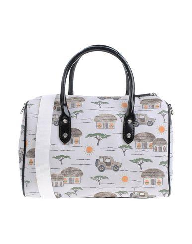 BRACCIALINI レディース ハンドバッグ ホワイト 紡績繊維