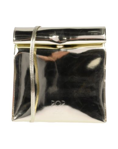 FRANCO PUGI レディース ハンドバッグ プラチナ 紡績繊維