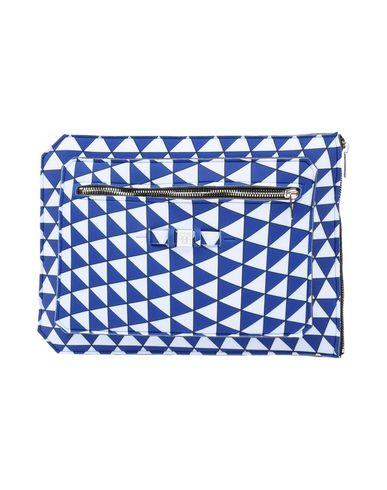 SAVE MY BAG レディース ハンドバッグ ブルー ポリエステル 50% / ナイロン 40% / ポリウレタン 10%