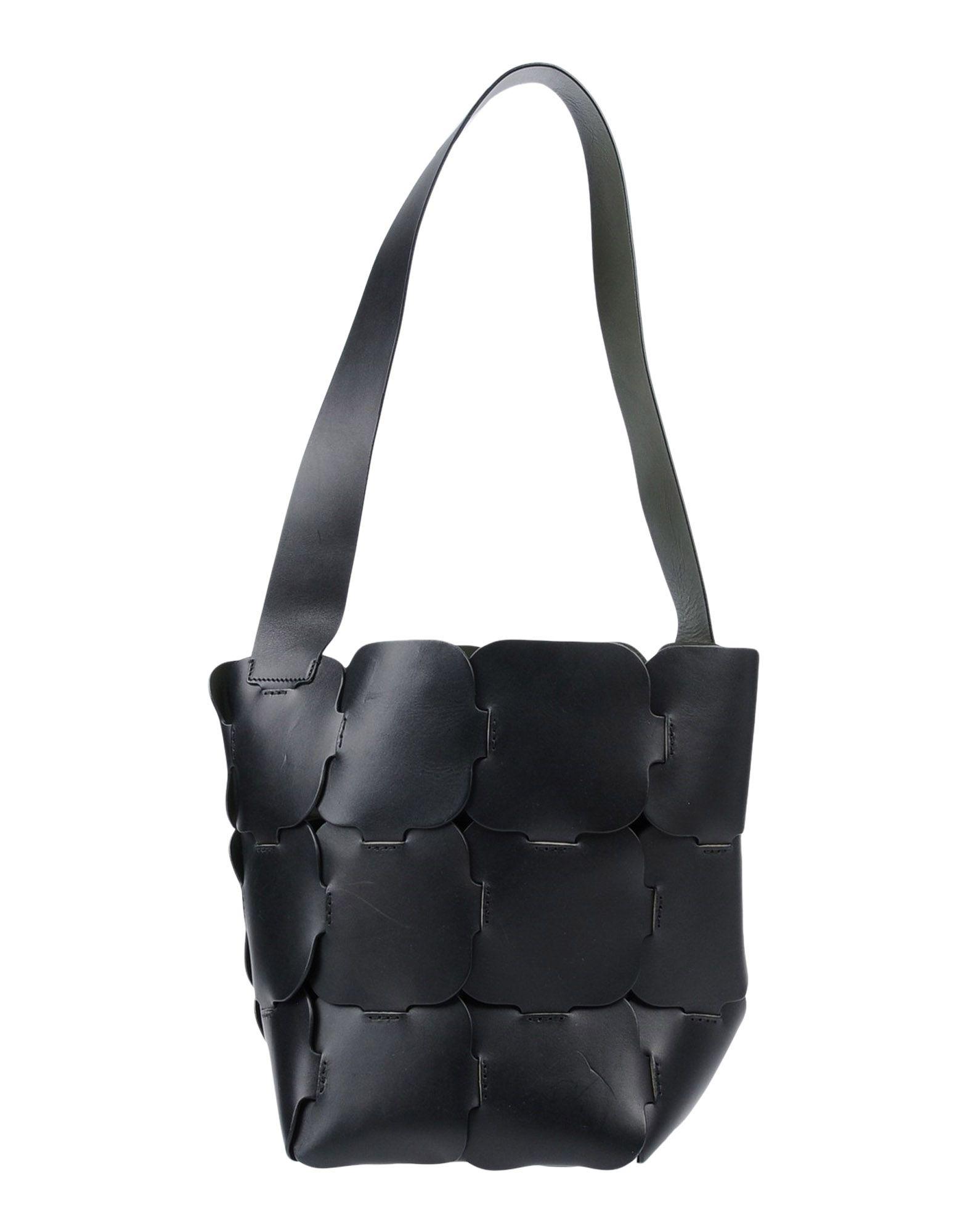 《送料無料》PACO RABANNE レディース 肩掛けバッグ ブラック 革