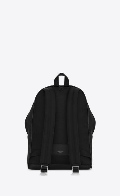 SAINT LAURENT Backpack Homme sac à dos city en cuir mat noir b_V4