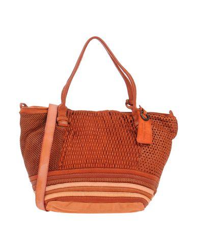 CATERINA LUCCHI レディース ハンドバッグ 赤茶色 革 100% / 紡績繊維