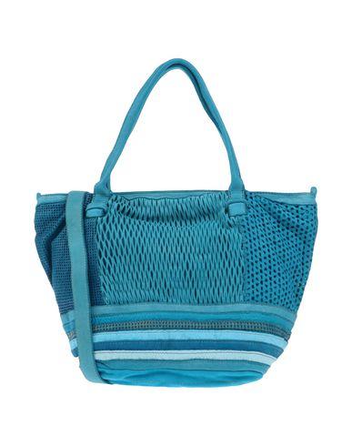 CATERINA LUCCHI レディース ハンドバッグ アジュールブルー 革 100% / 紡績繊維