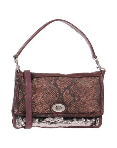 CATERINA LUCCHI レディース ハンドバッグ ボルドー 革 100% / 紡績繊維