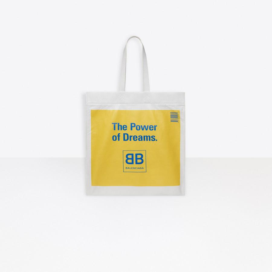 BALENCIAGA Supermarket Shopper L The Power of Dreams Supermarket Bags Man f
