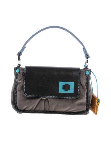 GABS レディース ハンドバッグ 鉛色 紡績繊維 / 革