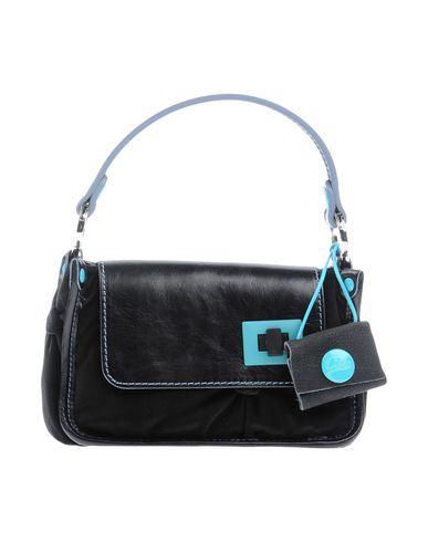 GABS レディース ハンドバッグ ブラック 紡績繊維 / 革