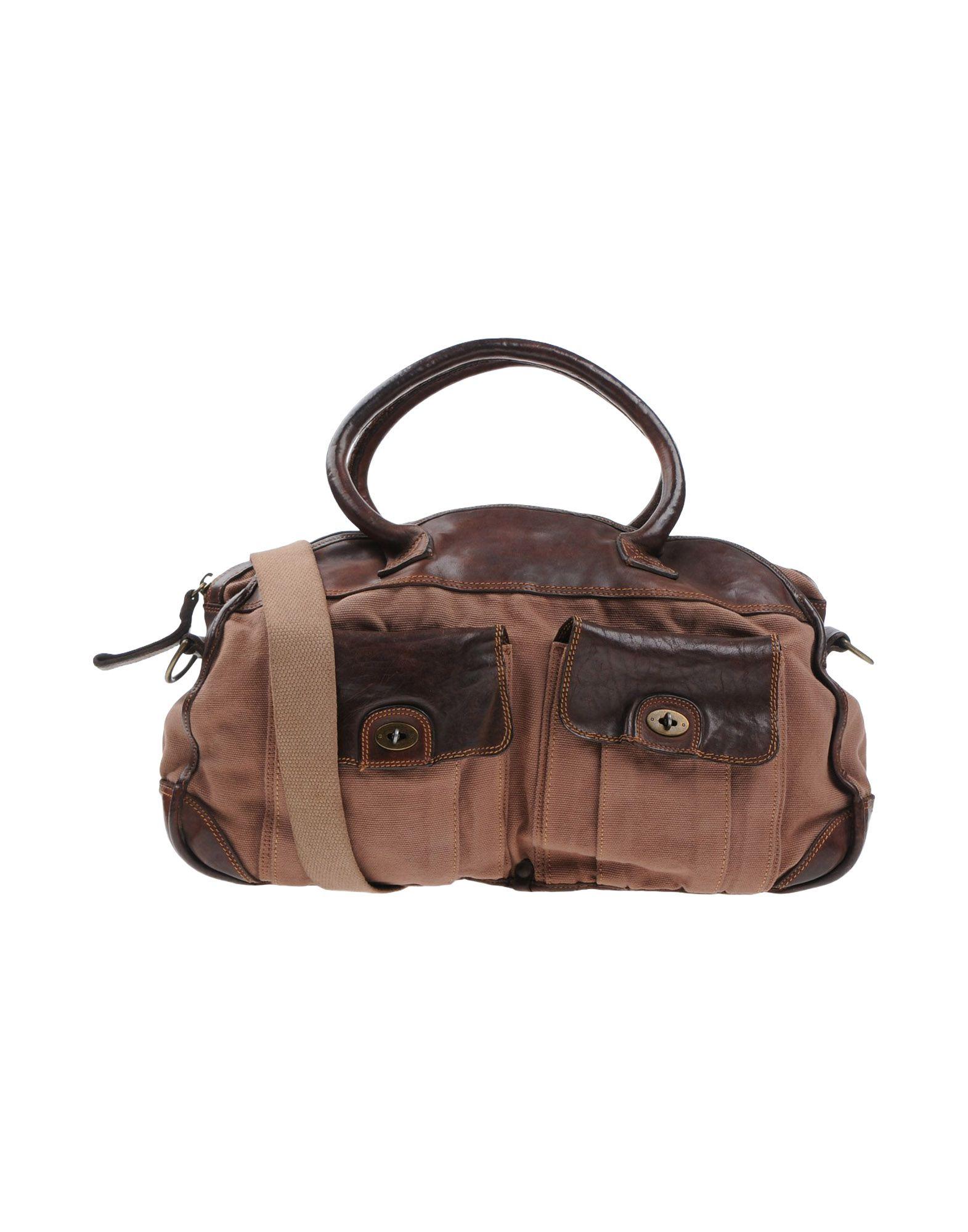 Jigsaw Handbags In Cocoa