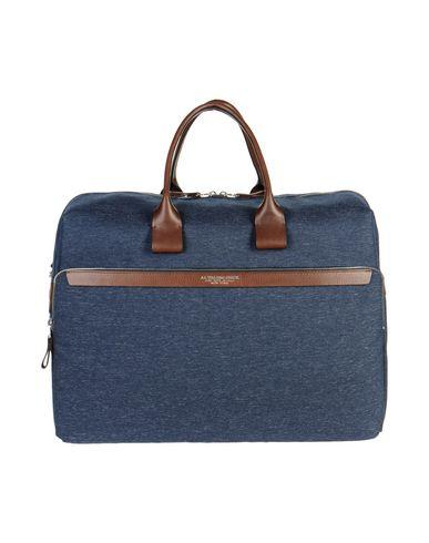 A.G. SPALDING & BROS. 520 FIFTH AVENUE New York レディース 旅行バッグ ブルー 紡績繊維 / 革