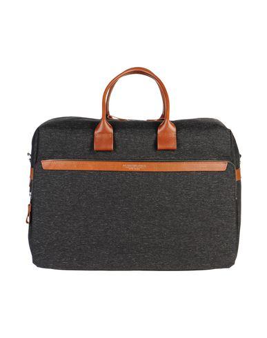 A.G. SPALDING & BROS. 520 FIFTH AVENUE New York レディース 旅行バッグ スチールグレー 紡績繊維 / 革