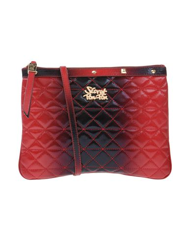 SECRET PON-PON レディース ハンドバッグ ボルドー 紡績繊維