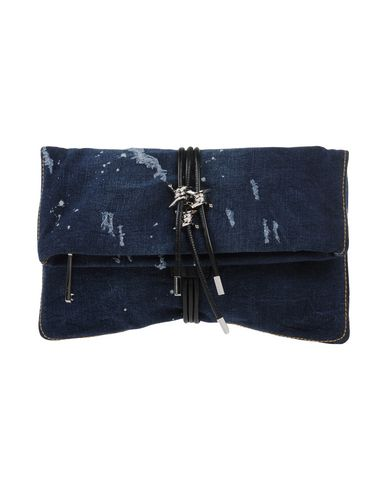 DSQUARED2 レディース ハンドバッグ ブルー 紡績繊維