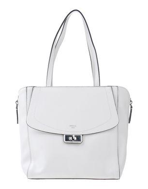 Graustein Angebote GUESS Damen Handtaschen Farbe Weiß Größe 1