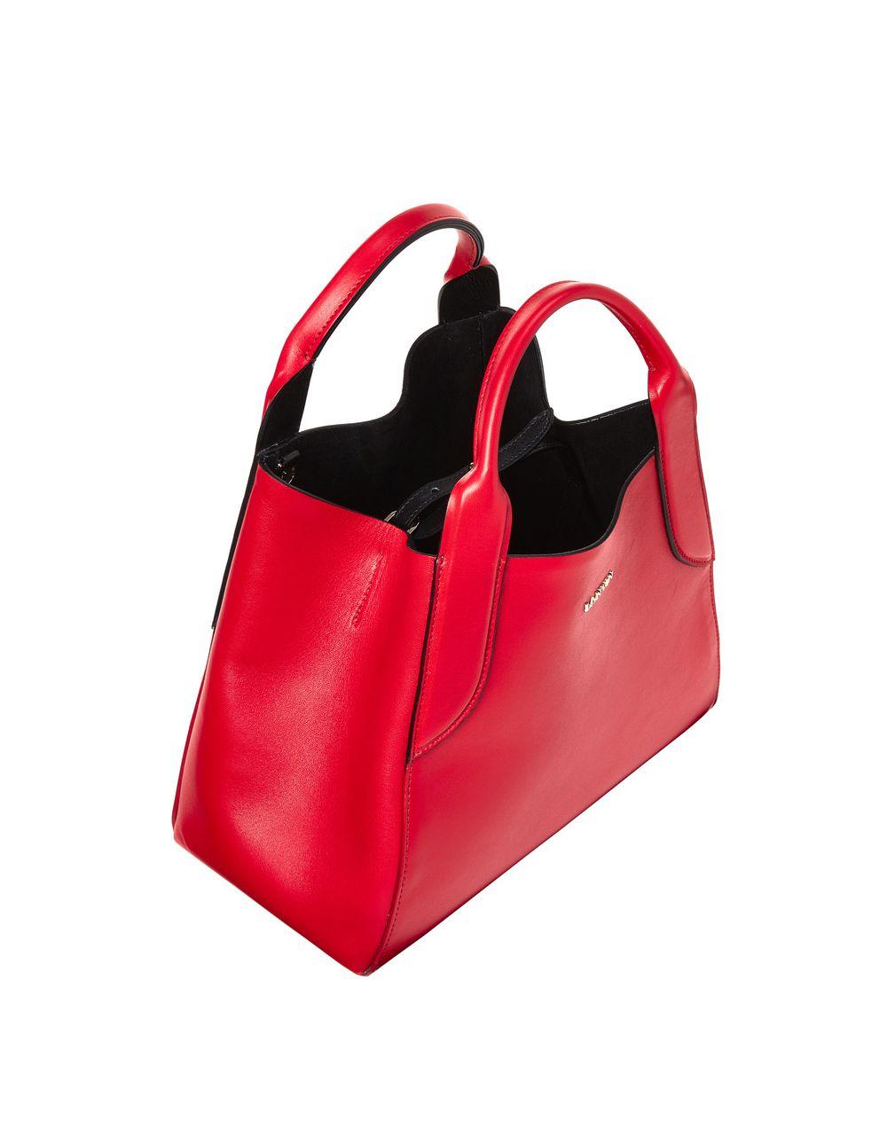 mini Cabas bag - Red Lanvin P1GFKOCF