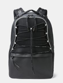 ARMANI EXCHANGE DRAWCORD MESH BACKPACK Backpack Man f