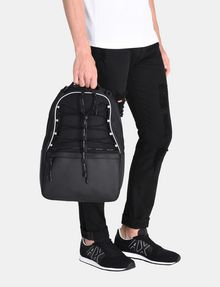 ARMANI EXCHANGE DRAWCORD MESH BACKPACK Backpack Man r