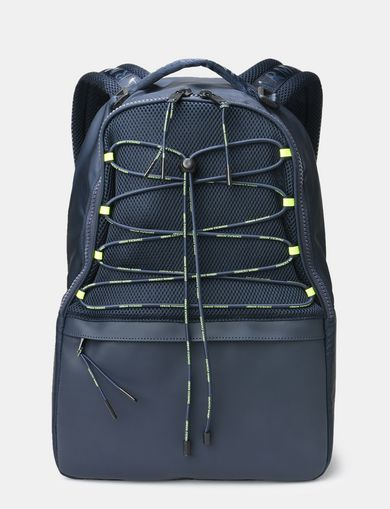 DRAWCORD MESH BACKPACK