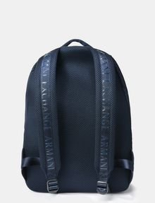 ARMANI EXCHANGE DRAWCORD MESH BACKPACK Backpack Man d