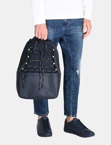 ARMANI EXCHANGE DRAWCORD MESH BACKPACK Backpack Man r