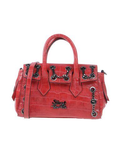 SECRET PON-PON レディース ハンドバッグ 赤茶色 紡績繊維