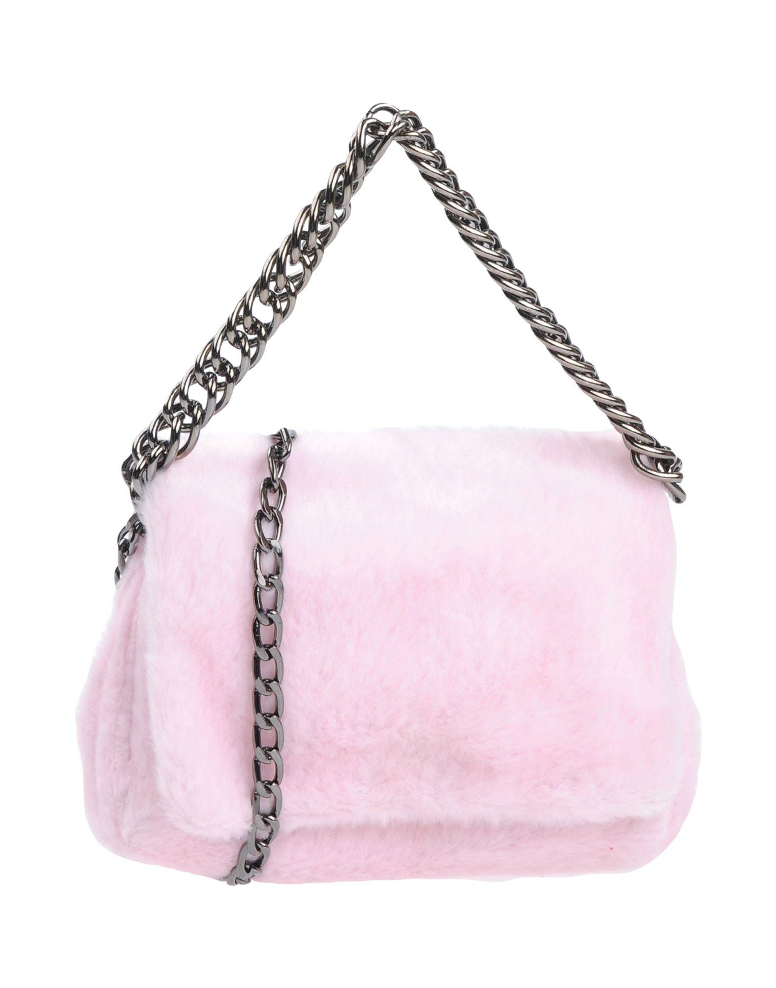 《送料無料》LUXURY FASHION レディース メッセンジャーバッグ ピンク 紡績繊維