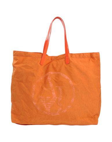 ARMANI JEANS レディース ハンドバッグ オレンジ ナイロン 100% / ポリ塩化ビニル