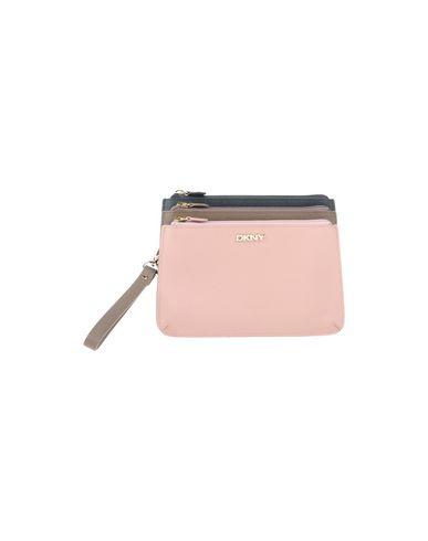 DKNY レディース ハンドバッグ ピンク 革 100%