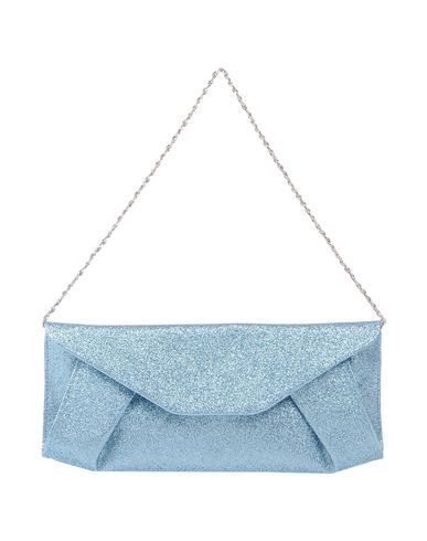 CHIARA P レディース ハンドバッグ スカイブルー 紡績繊維