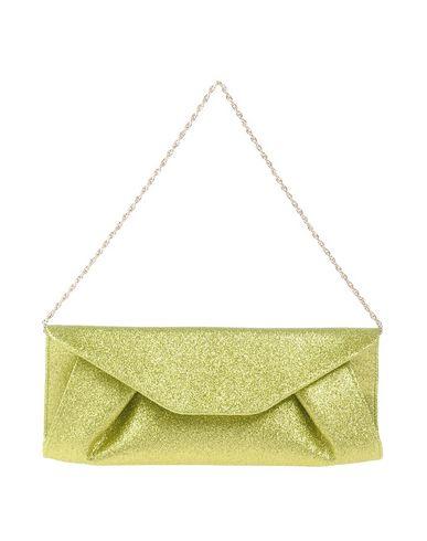 CHIARA P レディース ハンドバッグ グリーン 紡績繊維