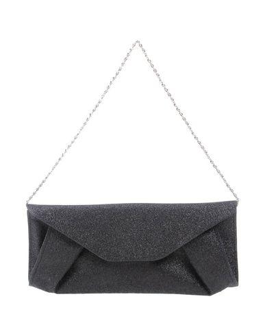 CHIARA P レディース ハンドバッグ ブラック 紡績繊維