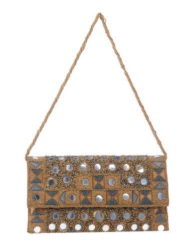 ASPIGA レディース ハンドバッグ キャメル 紡績繊維