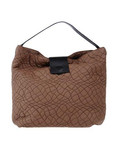 BRAINTROPY レディース ハンドバッグ ココア 紡績繊維